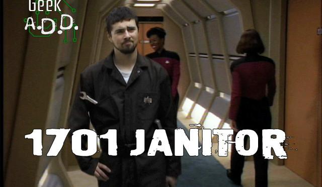 Saloon Shorts: 1701 Janitor