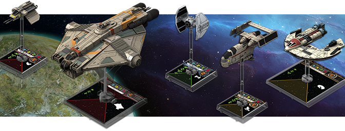NEW X-WING SHIPS!!!! WAVE 8!!!