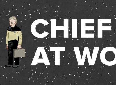 Chief O'Brien at Work