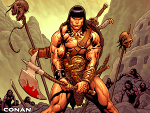 Conan from comics