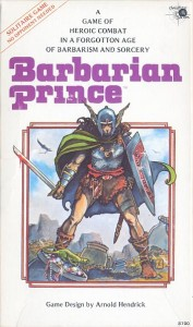 Barbarian Prince box