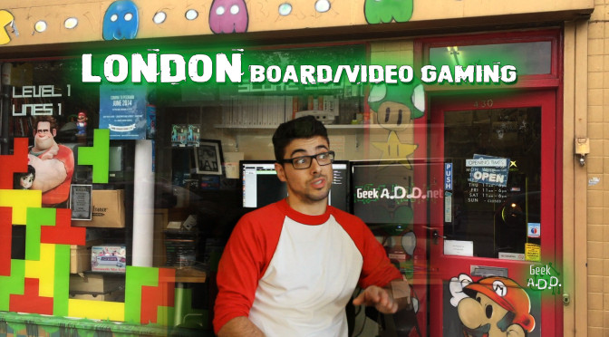 GeekADD assesses video and board games in London