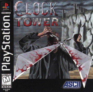 clock tower, scary video games, geek add