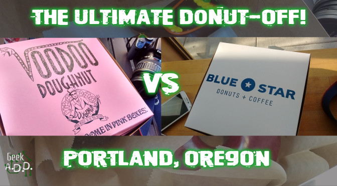 The Ultimate Donut-Off: Portland Edition!!!!