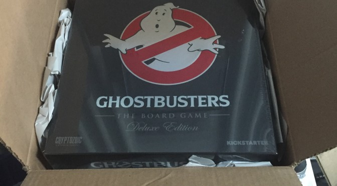 Unboxing Ghostbusters The Board Game Deluxe Edition