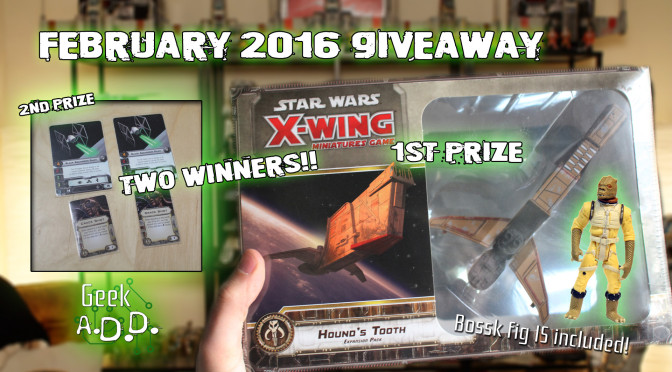 Win a Hound's Tooth Expansion for X-Wing Miniatures!