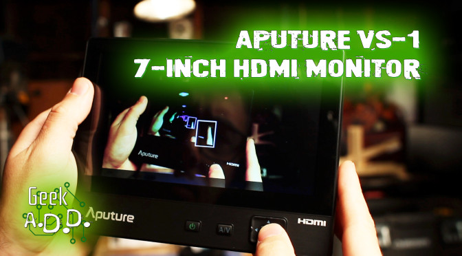 Aputure VS-1 Unboxing and Mini-Review