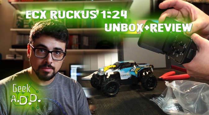 ECX Ruckus 1:24 Scale Unbox and Review