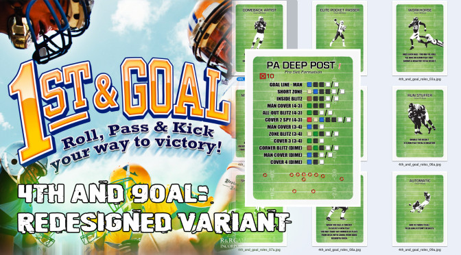 4th and Goal – Redesigned Cards for a little more realism
