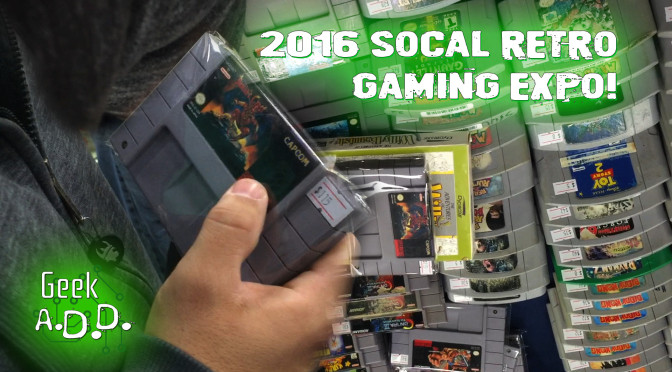 GADD Goes to the 2016 Socal Retro Gaming Expo!