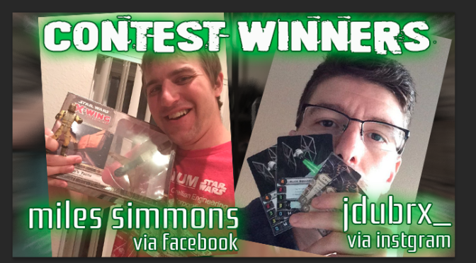 Bask in the Glory!  Contest Winners!