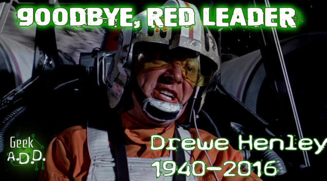 Goodbye, Red Leader