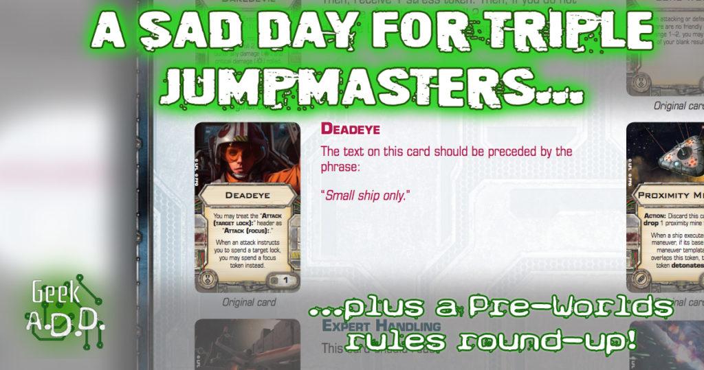 Triple Jumpmaster Deadeye Ruling