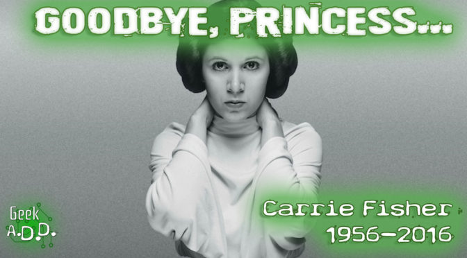 Goodbye, Princess…