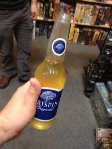 A bottle of cider