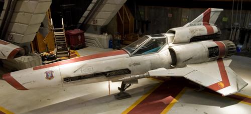A Viper Mk 2 from Battlestar Galactica