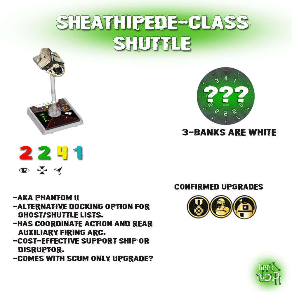 Sheathipede or Phantom 2 spread
