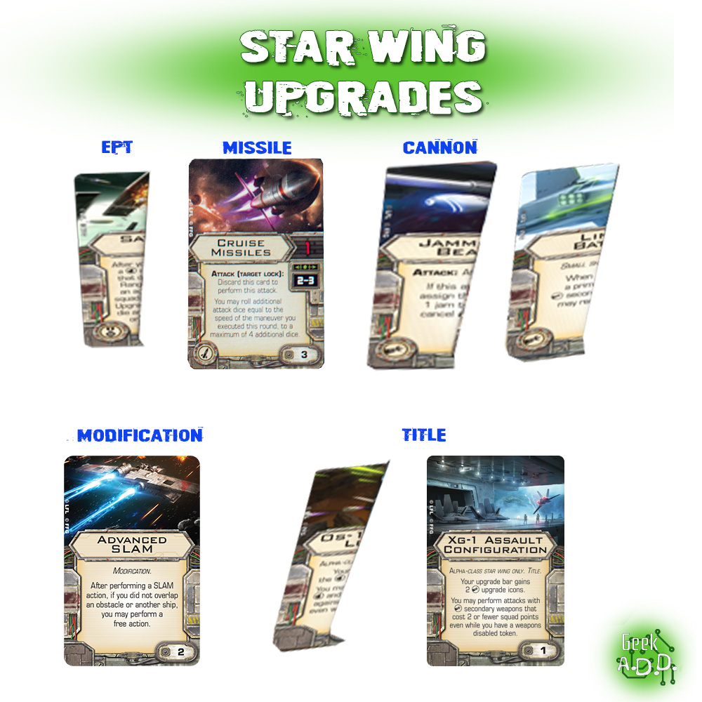 Star Wing Upgrades