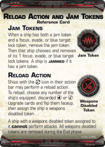 Explanaion of Jam tokens and Reload actions
