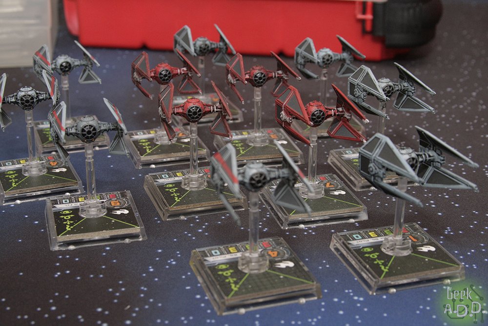 A huge swarm of TIE Interceptors. More than you could ever use.